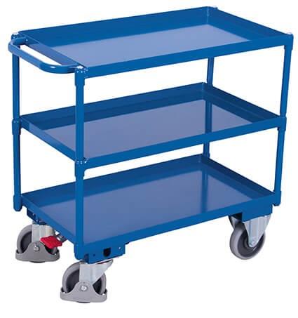Tischwagen, VARIOfit®, 3 Wannen, Traglast bis 400kg