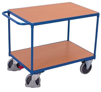 Tischwagen, VARIOfit®, 2 Ebenen, Traglast bis 500kg