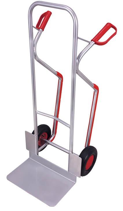 Aluminium-Kufenkarre VARIOfit®, Schaufel 480 x 300mm, 200 kg Traglast