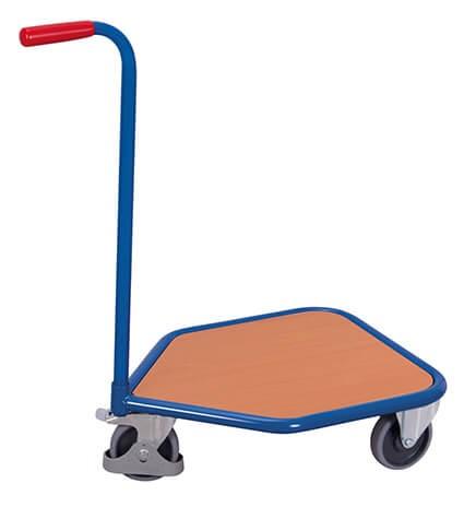 Griffroller VARIOfit®, 3 Rollen, Holzboden, 150 kg Traglast