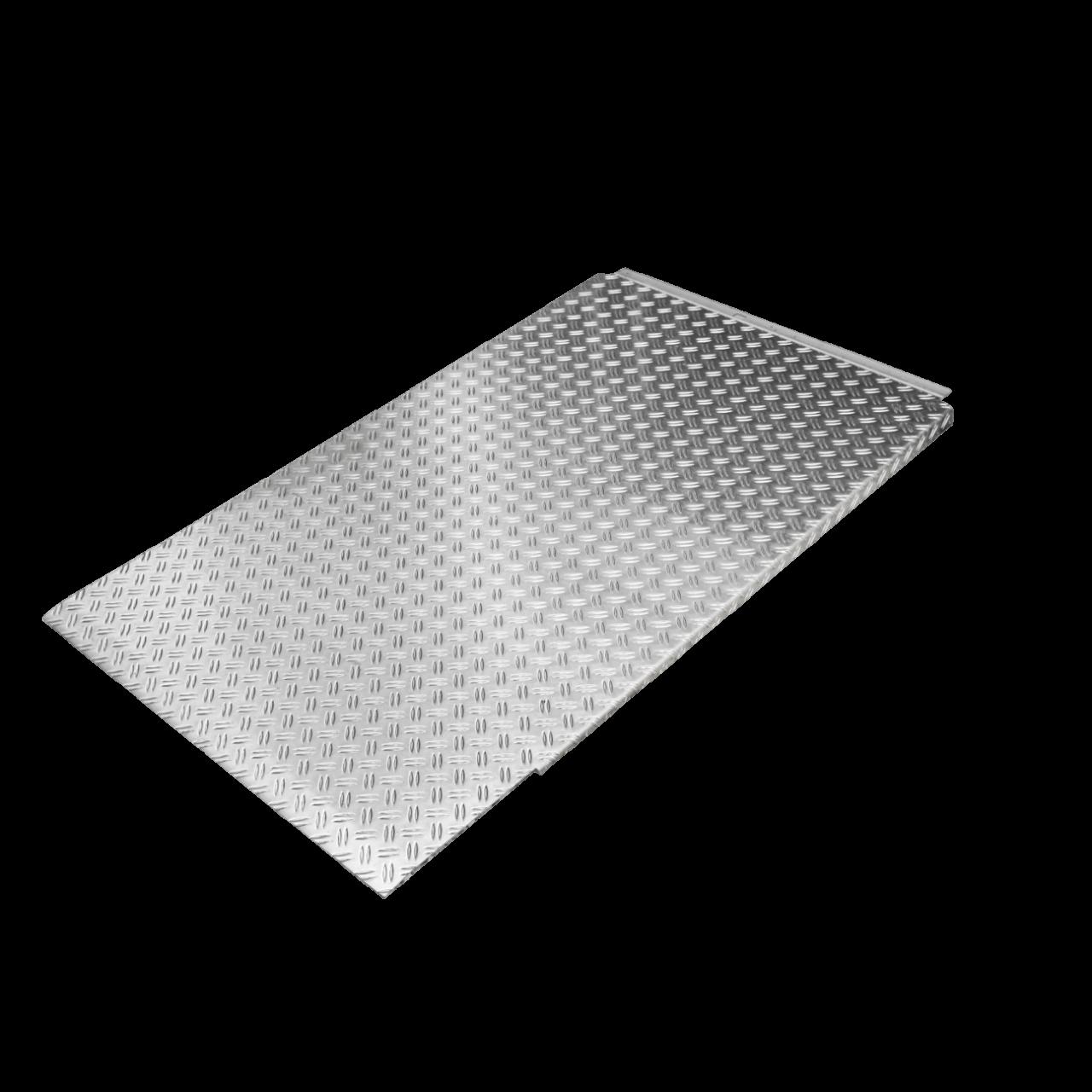 Auffahrrampe, LxB 1460x870mm, Aluminium