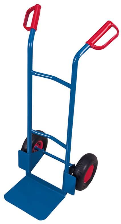 Stahlrohrkarre VARIOfit®, Schaufel 320x250mm, 200 kg Traglast