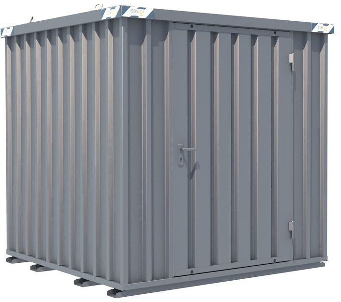 Schnellbau-Container, LxBxH, 2100x2100x2100mm