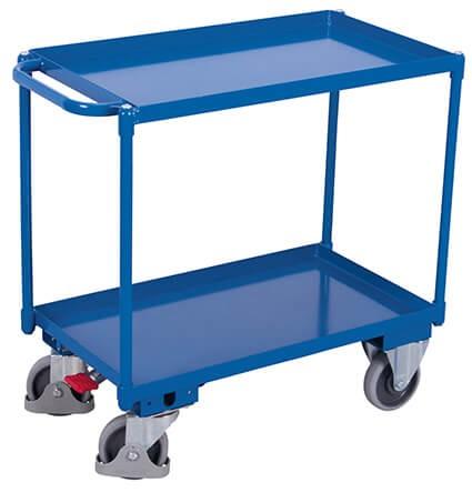 Tischwagen, VARIOfit®, 2 Wannen, Traglast bis 400kg