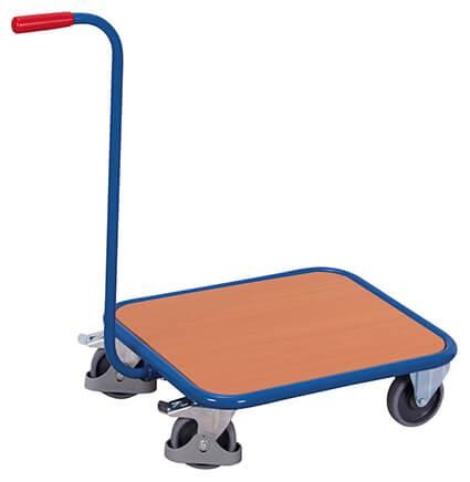 Griffroller VARIOfit®, 4 Rollen, Holzboden, 250 kg Traglast