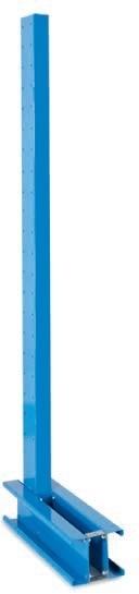 Kragarmsäule, Höhe 4000 mm, mittel, einseitig