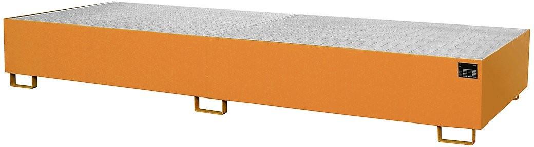 Palettenregalwannen für eine Fachweite von 3600 mm, Typ RW