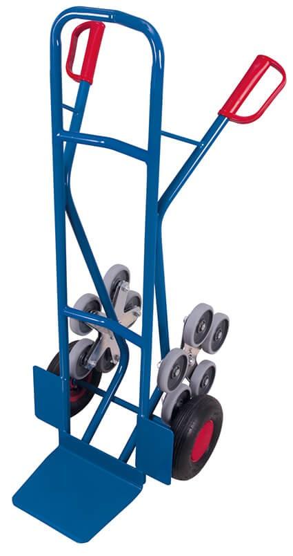 Kombi-Treppenkarre VARIOfit®, Schaufel 300 x 285mm, 200 kg Traglast