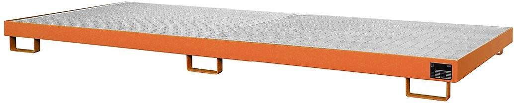 Palettenregalwannen für eine Fachweite von 3300 mm, Typ RW