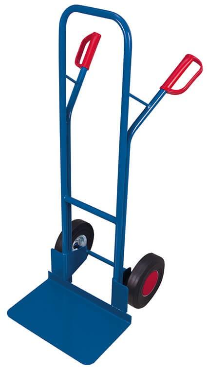 Stahlrohr-Kistenkarre VARIOfit®, Schaufel 480 x 300 mm, 250 kg Traglast