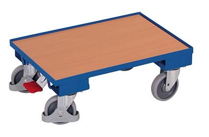 Transportroller VARIOfit®, Holzboden, 250 kg Traglast