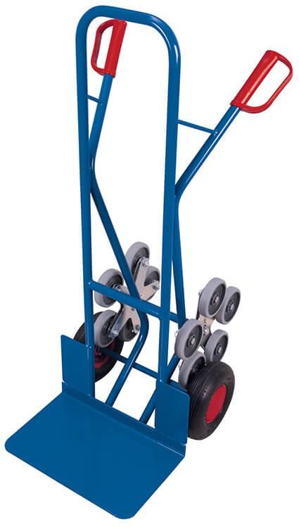 Kombi-Treppenkarre VARIOfit®, Schaufel 480 x 300mm, 200 kg Traglast