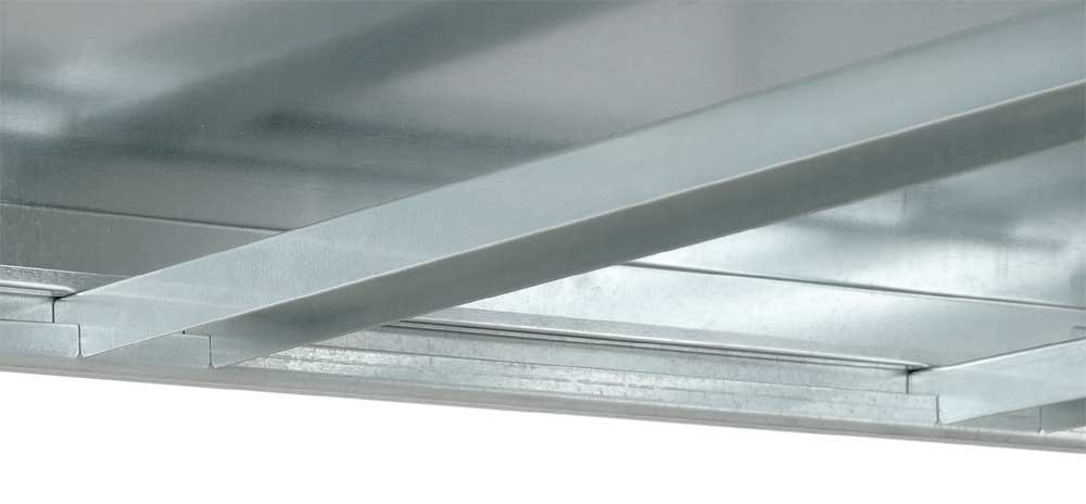 Fachboden Stahl, Großfachregal Orion Plus