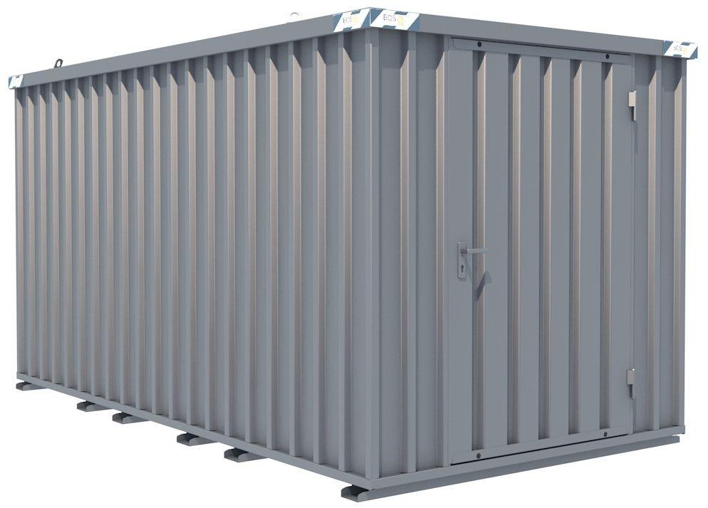 Schnellbau-Container, LxBxH, 4100x2100x2100mm