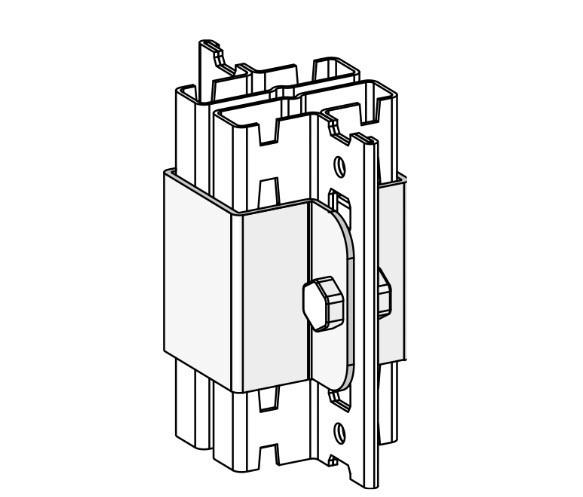 Kippsicherung, Profilverbinder