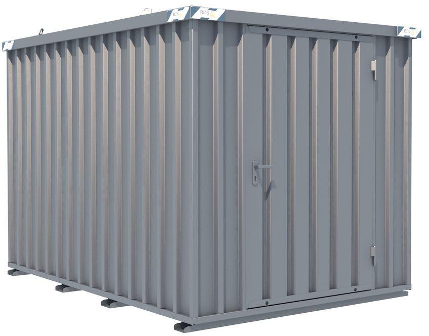 Schnellbau-Container, LxBxH, 3100x2100x2100mm