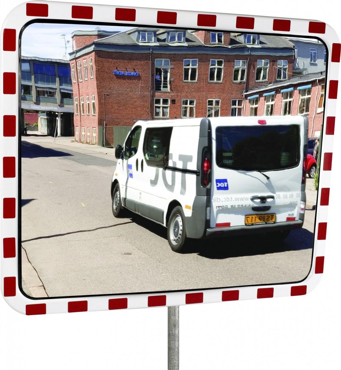 TM Verkehrsspiegel INOX, Inox, rechteckig
