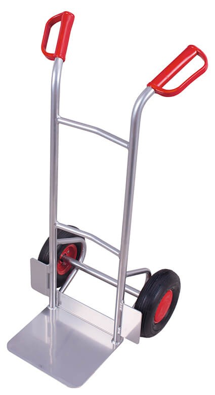 Aluminiumrohrkarre VARIOfit®, Schaufel 320x250mm,150 kg Traglast