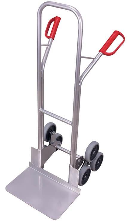 Aluminium-Treppenkarre VARIOfit®, Schaufel 480 x 295mm, 200 kg Traglast