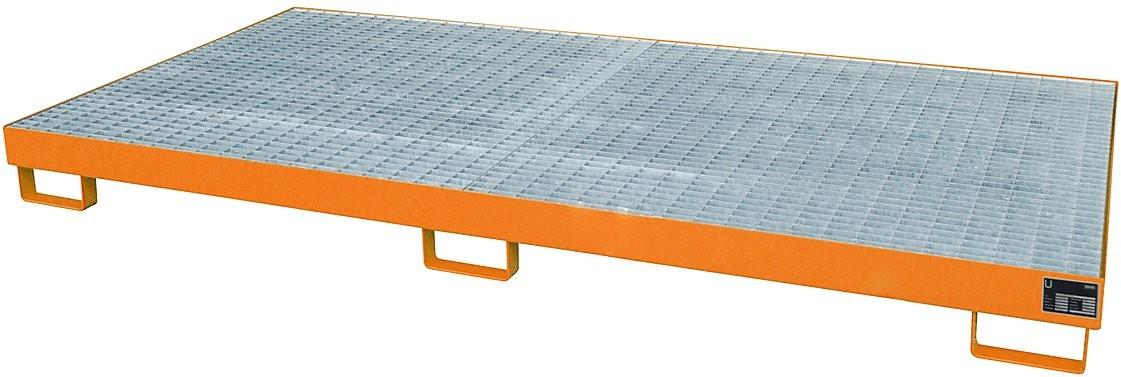 Palettenregalwannen für eine Fachweite von 2700 mm, Typ RW