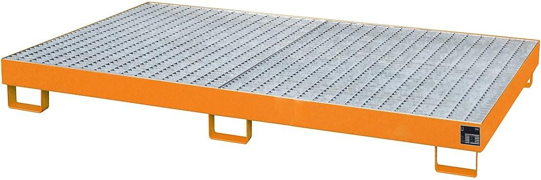 Palettenregalwannen für eine Fachweite von 2200 mm, Typ RW