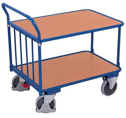 Doppelstock-Schiebebügelwagen, VARIOfit®, 400 kg Traglast