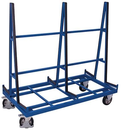 Plattenwagen VARIOfit®, zweiseitig, 1200 kg Traglast