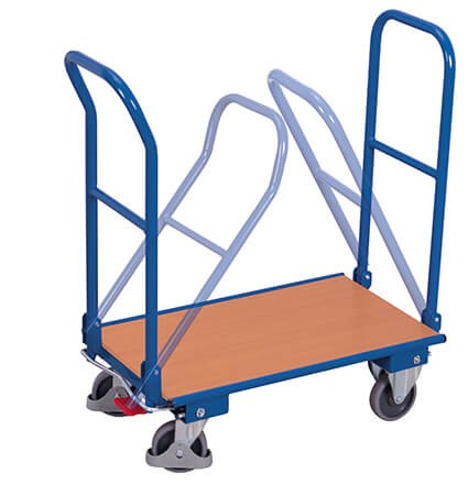 Doppelklappbügel-Wagen,VARIOfit®, 250 kg Traglast