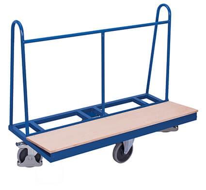 Plattenwagen VARIOfit®, einseitig, rhombische Rollenanordnung, 500 kg Traglast