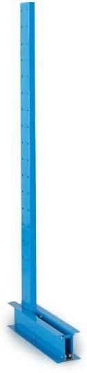 Kragarmsäule, Höhe 1750 mm, leicht, einseitig