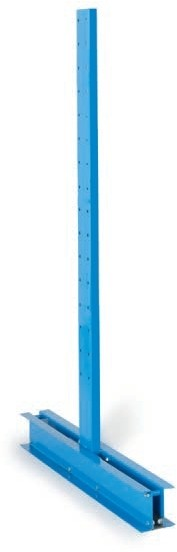 Kragarmsäule, Höhe 3000 mm, leicht, doppelseitig