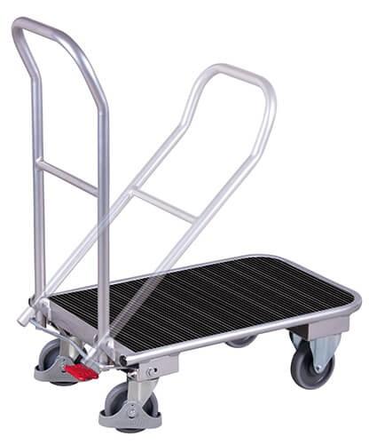 Aluminiumklappbügelwagen, VARIOfit®, 150 kg Traglast